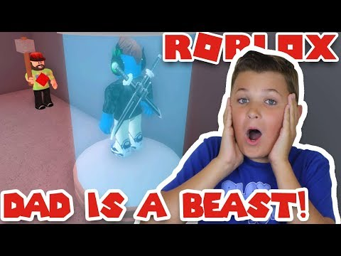 BEAST DAD CAPTURED EVERYONE! ROBLOX FLEE THE FACILITY | RUN, HIDE, ESCAPE!