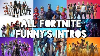 All Fortnite Funny's Intro