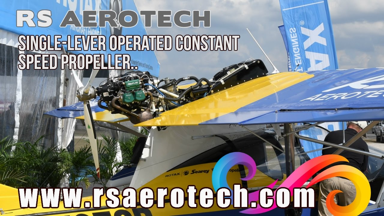 RS Aerotech, Rotax 915iS, Rotax 912 iS with single lever constant speed, MT  propeller SeaRey