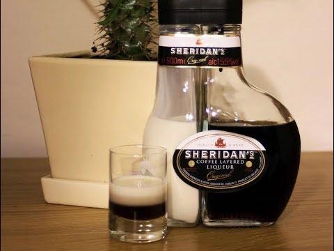 Как пить ликер шериданс