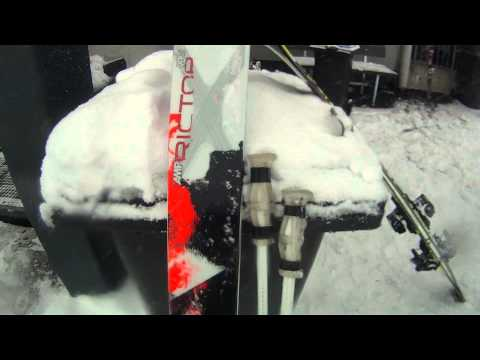 K2 test lyží Wanted Riders