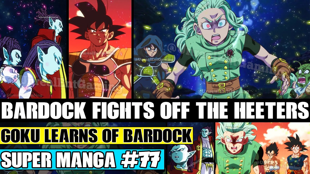 Download BARDOCK FIGHTS OFF THE HEETERS! Goku Learns Of Bardock Dragon Ball Super Manga Chapter 77 Review