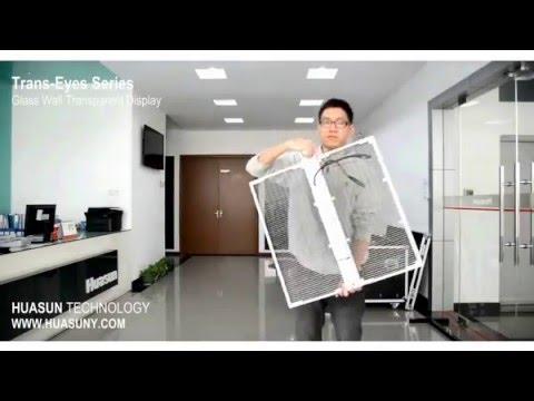 DIY easy installation for Transparent LED display