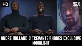 André Holland & Trevante Rhodes Exclusive Interview - Moonlight