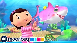 Color Baby Shark | Kids Songs | Little Baby Bum | Nursery Rhymes | Sleep Baby Songs