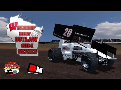Brennan Rogers | WDOSS ASCS 360 Sprint Cars League Race Win | Ocean Speedway | 10-28-14