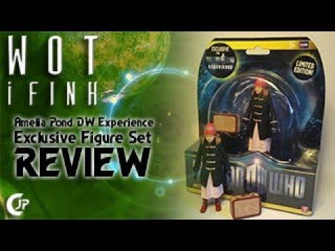 Wot i Fink : Amelia Pond DW Experience Exclusive Figure Set Review Mp3