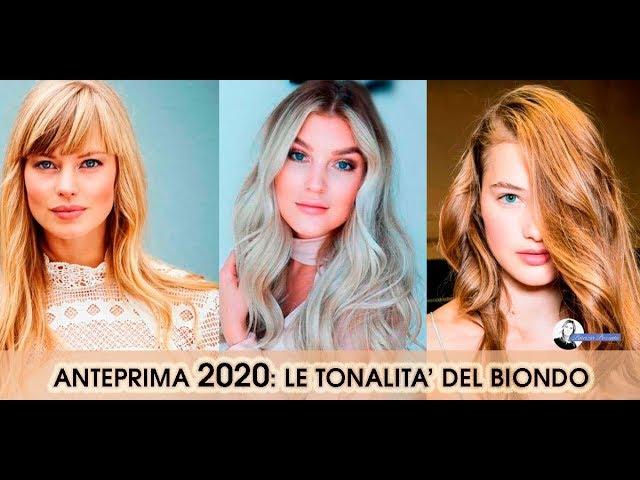 Colori Capelli Biondi 2020