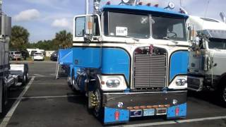 1980 Kenworth K100 cabover double bunk tractor.