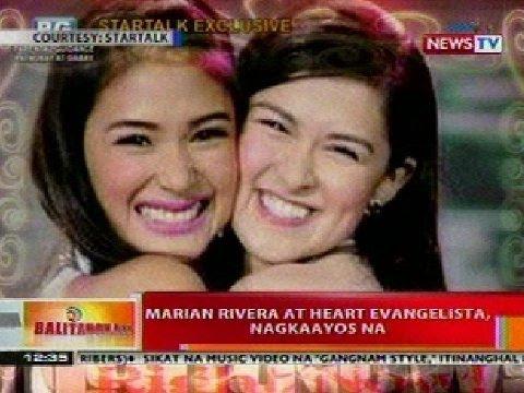 BT: Marian Rivera at Heart Evangelista, nagkaayos na - YouTube