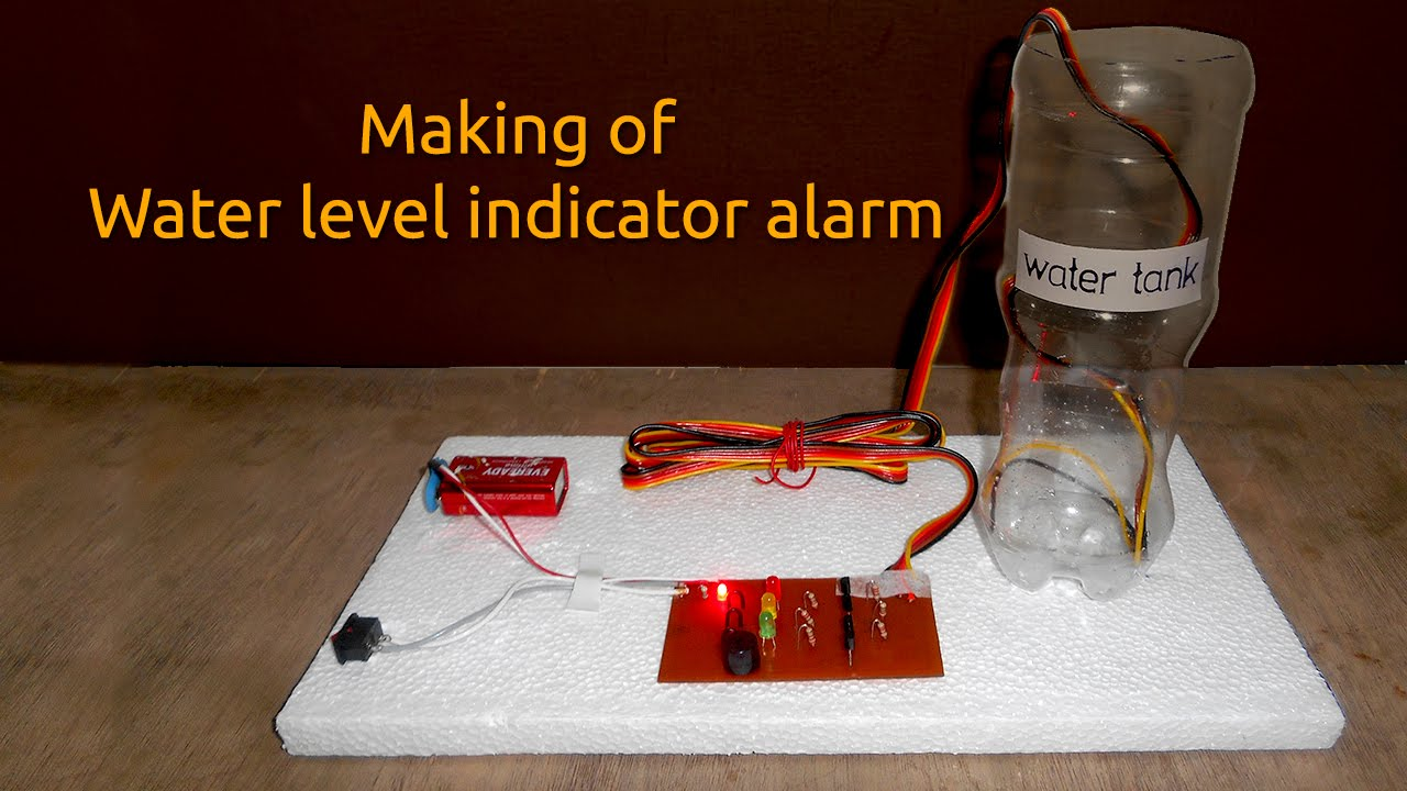 How To Make A Schematic Diagram Msd Wiring Diagrams Water Level Indicator Alarm - Youtube