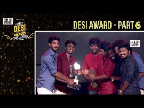 #DesiAwards2017 -  Part 6 | Smile Settai | TrendLoud | RJ VigneshKanth | Chutti Aravind