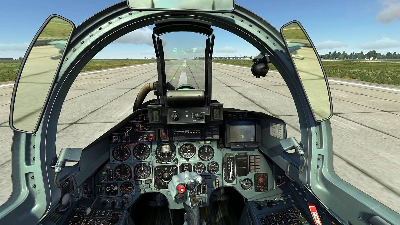 THRUSTMASTER T FLIGHT HOTAS X SETTINGS - TESTING WITH DCS WORLD SU 27