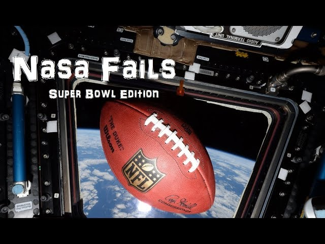 That Time NASA Pretended to Care about the Superbowl :)