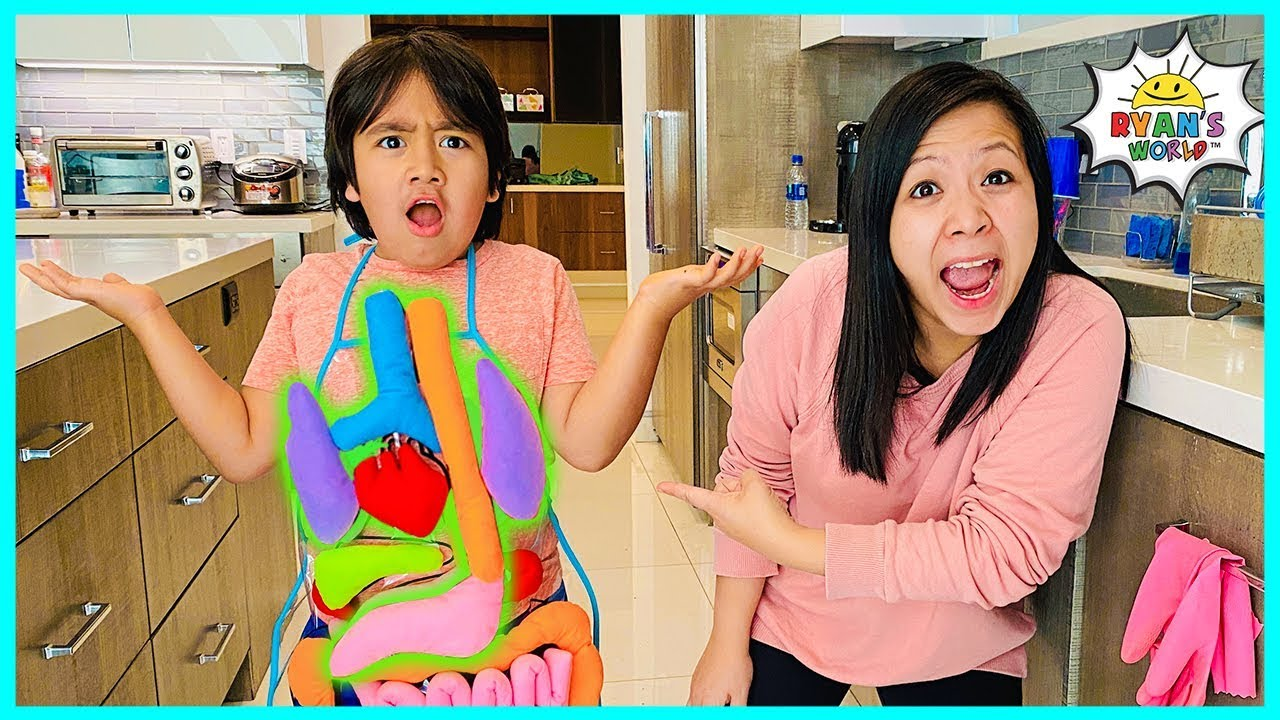 Learn about Parts of your body for kids | Educational Video Ryan's World