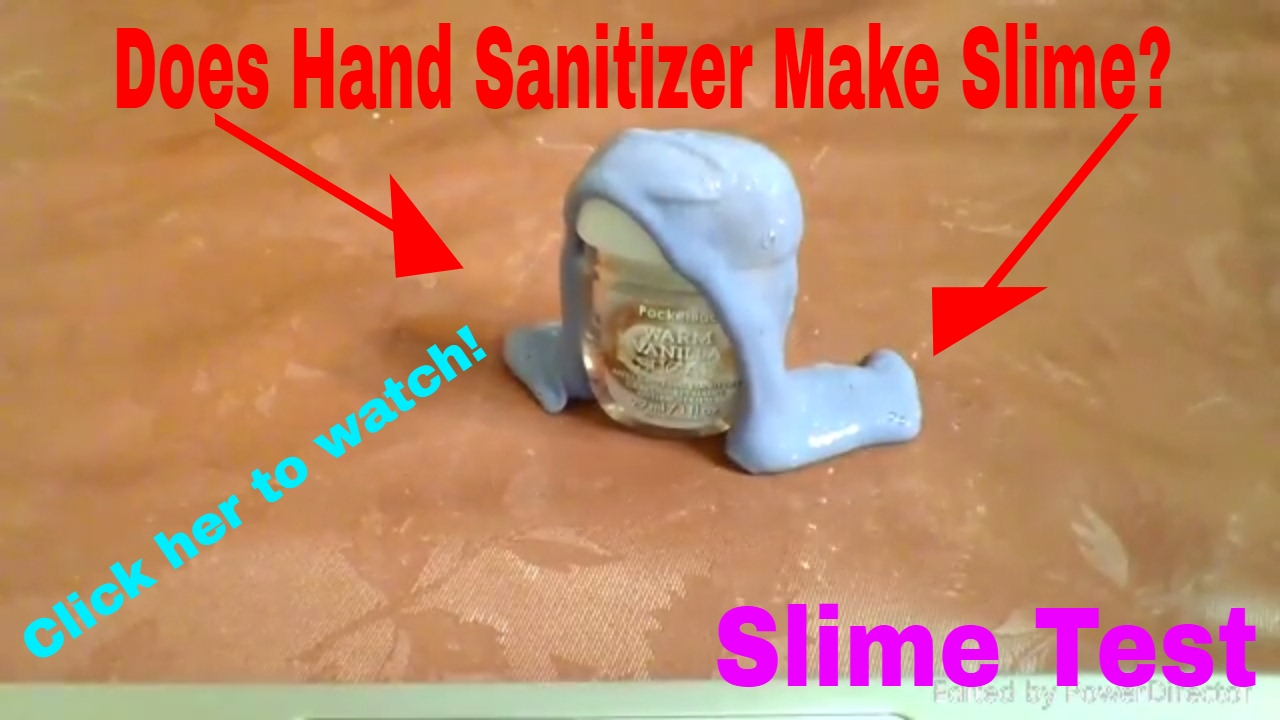 Does hand sanitizer make slime youtube does hand sanitizer make slime ccuart Images