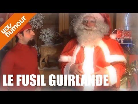 Dans l'intimité du père Noël ... Le fusil guirlande