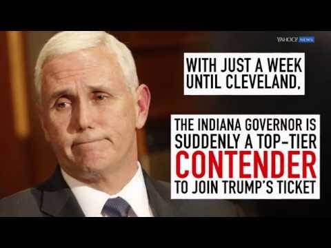 The Trump Veepwatch, Vol. 8: Mike Pence