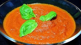 Tomato Sauce for Pizza - Tomatensauce für Pizza - Paradajz Sos za Picu