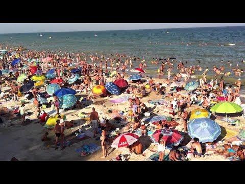 Кирилловка. Центральный пляж. В комментариях и с пояснениями.