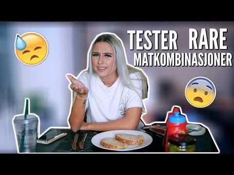 TESTER RARE MATKOMBINASJONER (A)