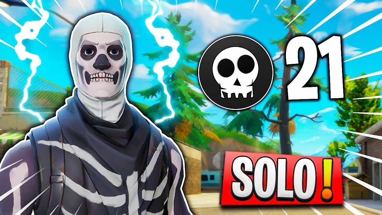 JE SURVIS A TILTED AVEC 12HP! 21 KILLS SOLO // 980+ WINS! Napo // Fortnite Gameplay!