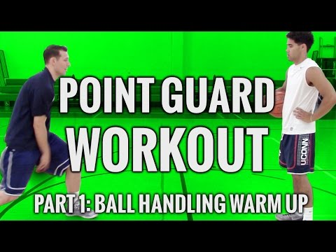 Point Guard Workout Part 1: Ball Handling Warm Up With Connor Kim