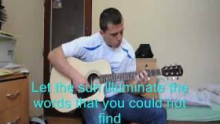 Natasha Bedingfield - Unwritten (acoustic karaoke)