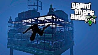 GTA 5 Моды: Подводная военная база - СЕКРЕТНОЕ ЗДАНИЕ