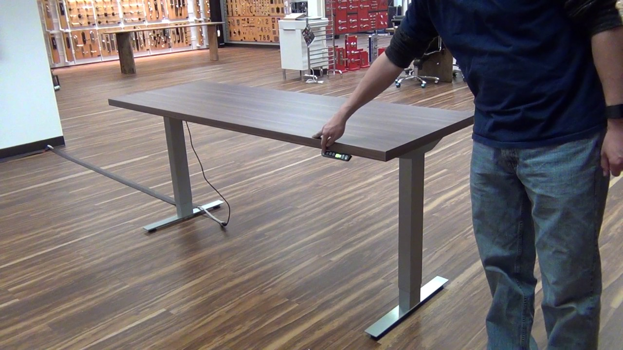 Hafele Clever Electric Adjustable Height Table Demo By Mack Designer - Adjustable height table hardware