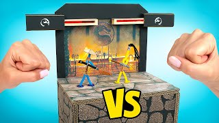 DIY Real Version Of Mortal Kombat Game