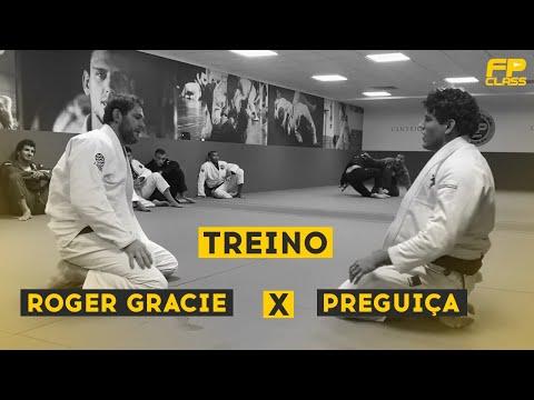 TREINO ROGER GRACIE x PREGUIÇA - PARTE 01