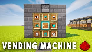 Video REDSTONE VENDING MACHINE - Minecraft Redstone Tutorial (MCPE, Xbox One, 360, Wii U, PS3, PS4) download MP3, 3GP, MP4, WEBM, AVI, FLV Desember 2017