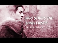 WHO SINGS FIRST? TRACKER/RANKING - THE OFFICIAL EXO EDITION