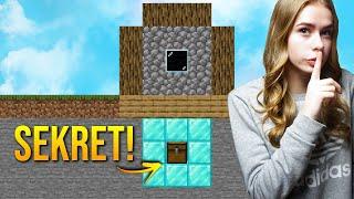 SEKRETNA SKRZYNKA na DIAMENTY w Minecraft!