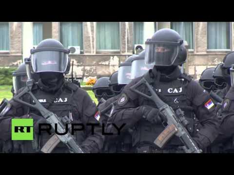 Serbia: Huge anti-terror drills held across Belgrade following Paris attacks