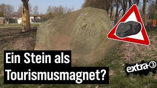 Realer Irrsinn: Steinhöherlegung in Altentreptow