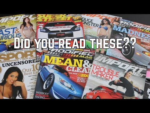 History of Tuner Magazines: PART 1 Super Street, Import Tuner and More!
