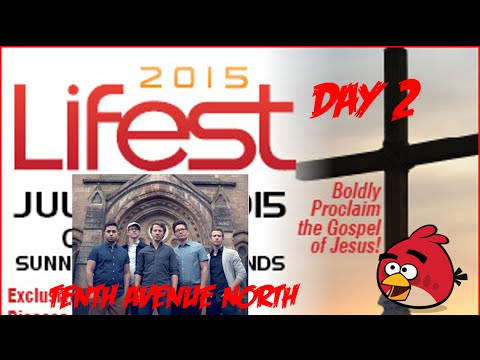 Lifest 2015 Vlog! Day 2 - Love & The Outcome, 10th Ave North, Chris Tomlin, and More!