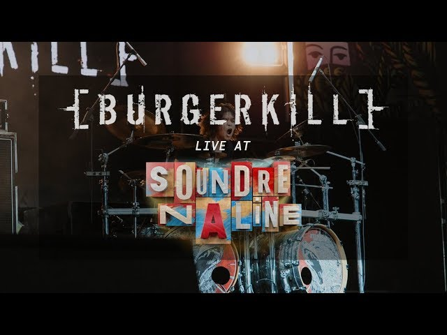 BURGERKILL - SOUNDRENALINE 2019 - FULL SET *Drum Cam