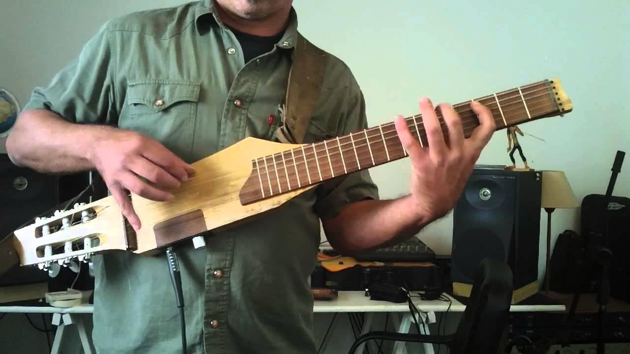 Guitarra de viaje del luthier esteban gonzalez youtube for Guitarras de luthier