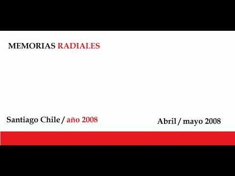 Recuerdos Radiales FM Santiago de chile ( 10 años atras. mayo 2008)
