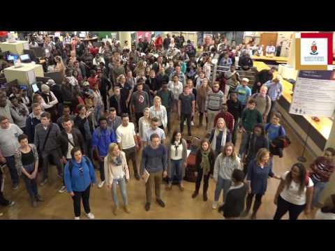 Tuks Camerata's flash mob