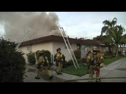 Buena Park - OCFA - La Palma Fire 3-3-16