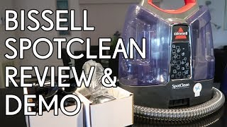 Bissell SpotClean Review & Demo