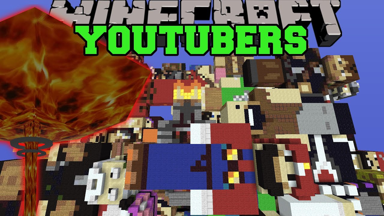 NUCLEAR WEAPONS VS YOUTUBERS   Minecraft Mods Vs Maps