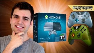 Epic Xbox One Halo 5 Guardians Limited Collectors Edition Box Opening and Review!