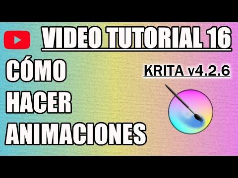 ✍️ Tutorial 16 Krita en Español - Como Animar thumbnail