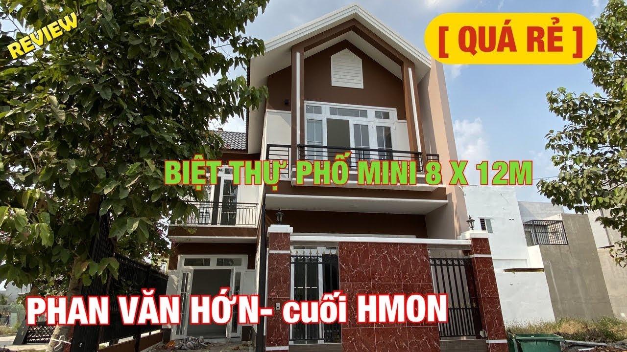 Bán biệt thự Hóc Môn mini 8x12m ✅ 2.85 tỷ bán nhà đất giá rẻ thật