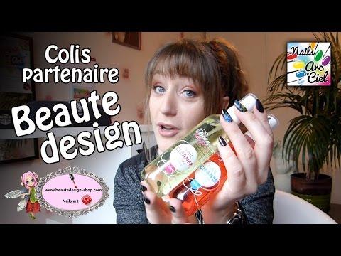 Boutique en ligne Beaute design - Ouverture colis